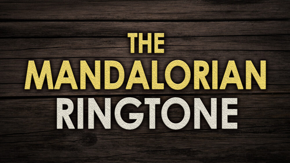 The mandalorian ringtone for your iphone